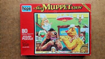 The Muppet Show 80 Piece Jigsaw by Hope 1976